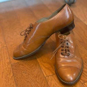 Leather Heeled Oxford